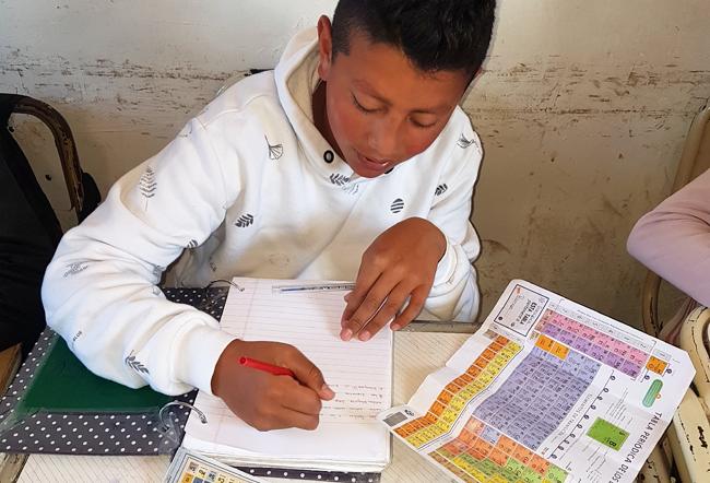 Mostra pedagógica em Tucumán, Argentina. Fonte: IYPT2019.